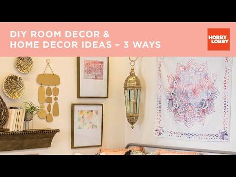 Home Decor 3 Ways