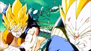 DBZ.  Vegeta and Goku.  AMV. Circus For A Psycho.