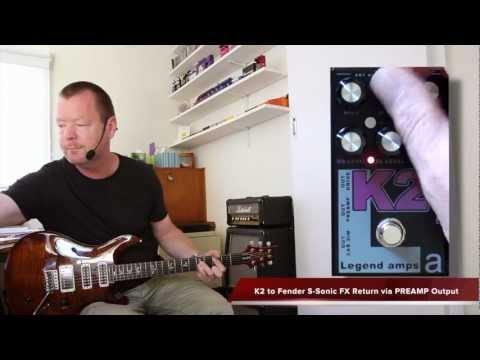 AMT Electronics : K2 Preamp and Effects Pedal