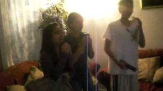 Sabbir, Rahina,and Mardia singing