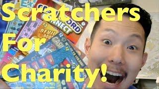 SCRATCHERS FOR ST JUDE CHARITY! Washington Lottery Scratchers