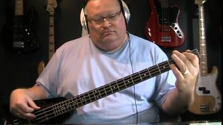 Amy Winehouse Rehab Bass Cover with Notes & Tablature