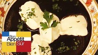 Recettes de cuisine : Bon Appétit Bien Sûr Capuccino aux champignons noirs en vidéo