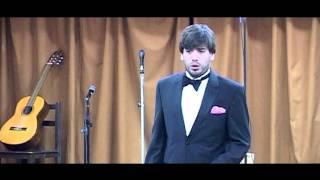 """El tenor Emanuel Esteban en """"los 60 años de Pachi Gorricho"""""""
