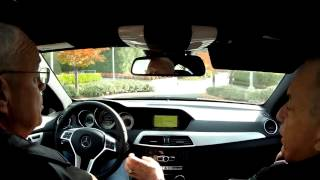 2012 Mercedes Benz C250 Test Drive Jack