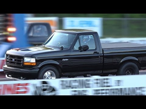Ford Lightning Drag Racing