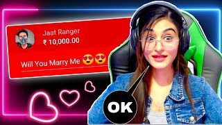 Flirting with Beautiful Streamers ft. @PAYAL GAMING  Part #3