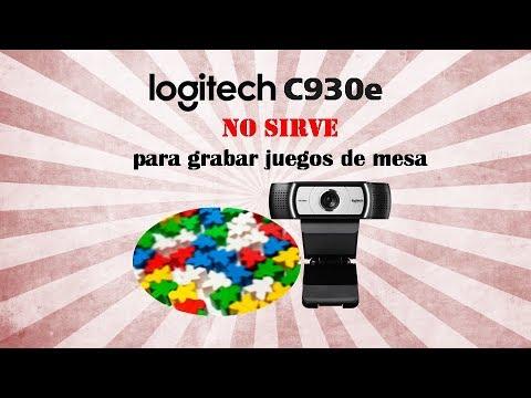 Logitech C930e - No sirve para grabar juegos de mesa