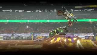 Monster Jam Freestyle On FOX Sports 1 - May 11, 2014 - Atlanta, GA