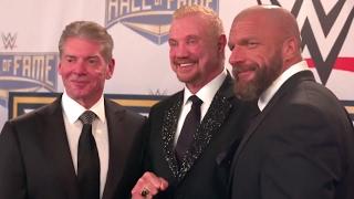 Entrega de los anillos del Salón de la Fama de WWE