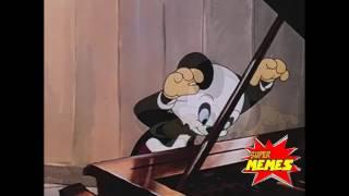 Panda do pica pau tocando teclado lindinho 2009