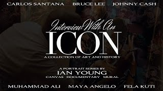 Interview With An Icon Portrait Series feat Muhammad Ali, Maya Angelou, Johnny Cash & More