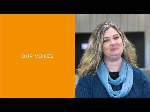 """Our Voices - Jennifer Readshaw, """"Making lives better"""""""