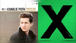 Charlie Puth ft Meghan Trainor vs Ed Sheeran - Marvin Gaye's Photograph (Mixed Mashup)