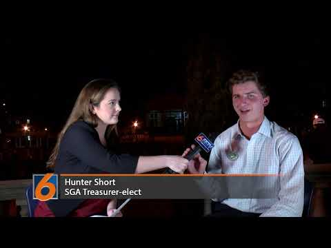 EETV interview with SGA Treasurer-elect Hunter Short