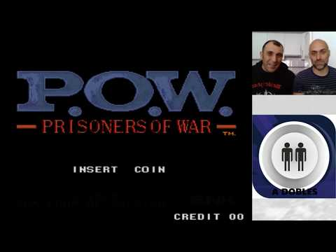 P.O.W. Prisoners Of War //Arcade // RETRO