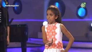 Claudia Alvés- Libre- gala 4 juniors copla