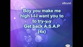 Alexandra Stan - Get Back (ASAP) Lyrics HD
