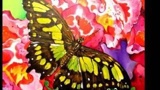 """""""Butterfly Bliss""""  Art by Angel Egle Wierenga"""