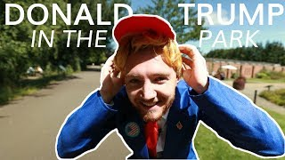 DONALD TRUMP IN THE PARK | Scheiffer Bates