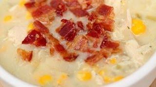 How To Make Chicken Corn Chowder | Fall Soup | Six Sisters Stuff