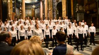 Coro Voci Bianche Concerto Rieti - I will follow him