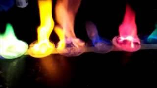 Sels métalliques embrasés - Test de reconnaissance d'ions à la flamme