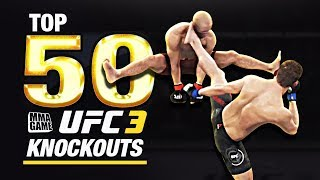 EA SPORTS UFC 3 | TOP 50 KNOCKOUTS - Community KO Video ep. 5 width=
