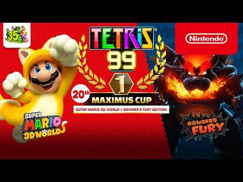 Tetris® 99 - 20th MAXIMUS CUP Gameplay Trailer - Nintendo Switch