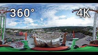 Super Sling 360° on-ride 4K POV Bigfoot on the Strip
