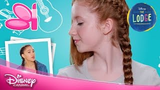 The Lodge | Hair Tutorial: Kaylee | Official Disney Channel UK