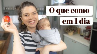 O QUE COMO DURANTE A AMAMENTAÇÃO   Marina Morais