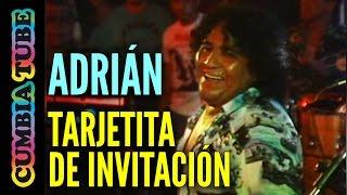 Adrián y Los Dados Negros - Tarjetita de Invitación