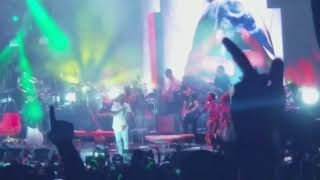 "NAS & LAURYN HILL perform ""If I ruled the world"" @bayfront park, Miami, Fl"