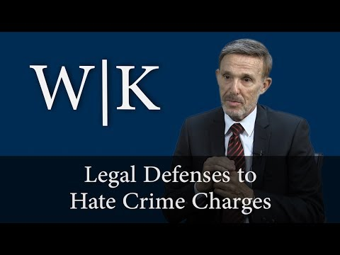 Defenses to Hate Crimes