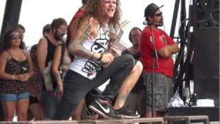 Miss May I - Swing at Warped Tour FULL HD 1080p 60 fps Front