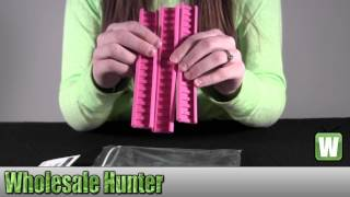 Ergo Slim Line Rail Cover 3-Pack Flat Dark Earth 4369-3PK-PINK Unboxing