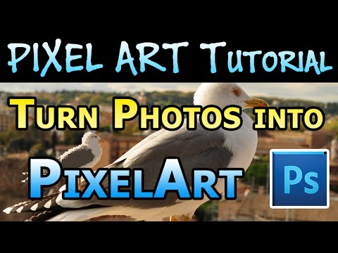 Pixel Art Tutorial - Turn Photos into Pixel Art in Photoshop