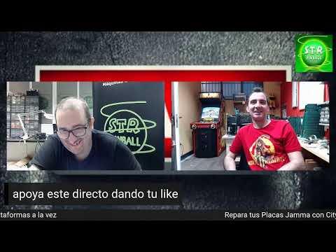 #9-D Consultorio Tecnico Pinball y Arcade en Directo 07/05/21