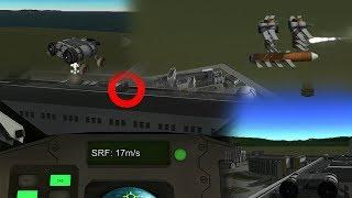 """""""Under Attack"""" - KSP Short Film (VTOL SSTO Destroys UFO)"""