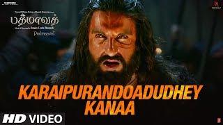 Karaipurandoadudhey Kanaa Video Song | Padmaavat Tamil | Deepika, Shahid, Ranveer
