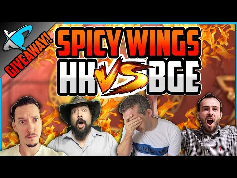 ⚡SPICY WINGS... HH vs BGE... INSANE FINISH !!⚡ | 5 CHICKENS GIVEAWAY  | RAID: Shadow Legends