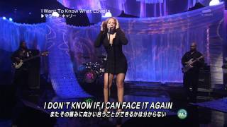 Mariah Carey I Want To Know What Love Is (Live) HD 1080i