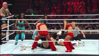 Tons of Funk & The Funkadactyls vs. Team Rhodes Scholars & The Bella Twins: Raw, April 8, 2013