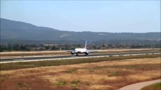 [HD] Boeing B757-23N Jet2 Holidays G-LSAK landing Palma de Mallorca Airport (PMI/LEPA)