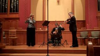 Kummer Trio Op. 83 Menuetto at Cedar Rapids  6-5-10