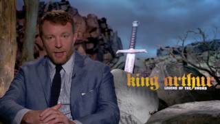 Guy Ritchie Raw Interview King Arthur & Talks Aladdin Live Action Movie