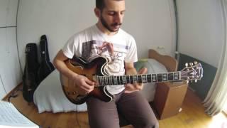"""""""Footprints"""" Guitar chord melody"""