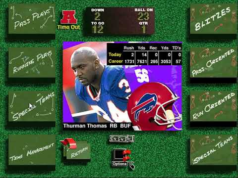 Live Action Football (Blank, Berlyn and Co.) (Windows 3.x) [1994] [PC Longplay]