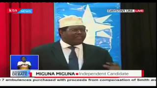 We have compiled the best contents about Miguna Miguna his salvos his attacks and his humurous side